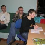 Steffen, Jesper Hammel og Niels Jakob