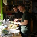 Jesper P. og Mathias er jo bare kokke