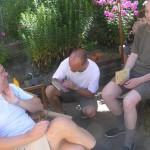 Jesper Hammel, Søren Vraa og Niels