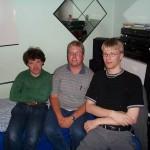 Sigvald, AC og Thomas