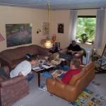 Elisabeths pæne stue er fyldt med uordentlige donaldister