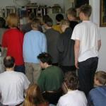 Orv, et billede af alle deltagerne bagfra